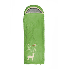 Grüezi-Bag Cloud Blanket Deer IV Slaapzak, spring green